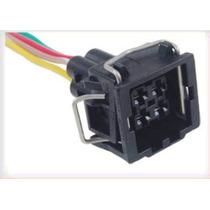 Conector 4 Vias Sensor De Temp.agua Parati/gol/savei//golf