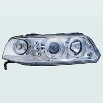 Farol Do Vw Gol G3 Com Angel Eyes