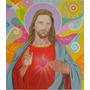 Quadro Jesus Ou Maria, Em Óleo S/ Tela Sob Encomenda