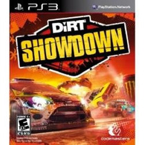 Jogo Original Novo Dirt Showdown Para Ps3 Playstation 3