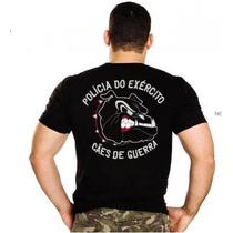Camiseta Bordada Cães De Guerra Oficial E Original