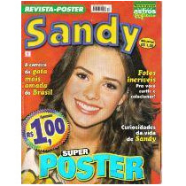 Revista-pôster Super Astros Pop Extra 13 * Sandy