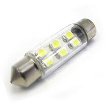 Lampada Torpedo Para Teto Placa Porta Malas C/ Leds Brancos