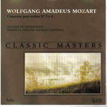Mozart - Concerto Para Violino Classic Masters Frete Grátis
