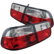 Lanterna Altezza Red Honda Civic Sedan 96/98 Red Leds