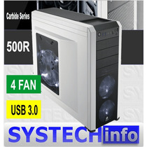 Gabinete Corsair Carbide 500r Usb 3.0 4 Fan Midi Torre