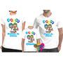 Camiseta - Camisa Personalizada Patati Patatá A4 /kit 3peças