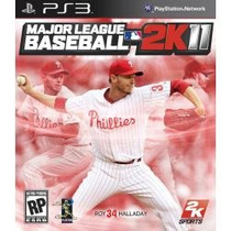 Jogo Major League Baseball 2k11 Da 2k Sports Para Ps3 Play 3