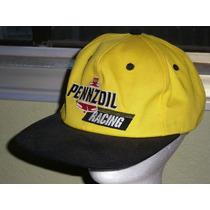 Boné Cap Nascar Pennzoil Racing Importado - Aba Curva