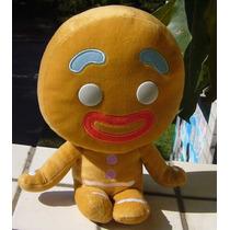 Pelúcia Shrek Homem Biscoito Pão De Mel De Pelúcia 27 Cm