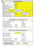 Planilha Calculo Juros Abusivos Financiamentos + Laudo