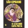 Livro São Cipriano O Legitimo Capa Preta Novo!