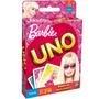 Jogo Uno Barbie Mattel Cartas Baralho Bebe Store