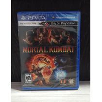 Jogo Mortal Kombat Ps Vita (lacrado E Original)