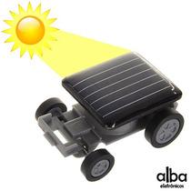 Mini Carrinho Movido A Energia Solar - Educativo E Divertido