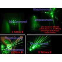 Slide Filtro Multiplica Laser Show Dj Pointer Verde Ponteira