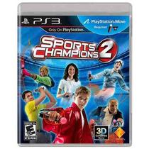 Jogo Sports Champions 2 - Lançamento - Playstation 3 - Ps3