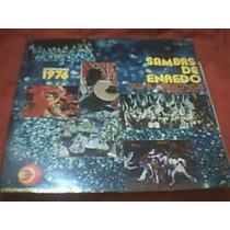 Lp Vinil 1976 Sambas De Enredo Das Escolas Do Grupo 1- Rj