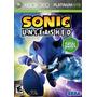 Sonic Unleashed Xbox 360 Ntsc Lacrado Pronta Entrega