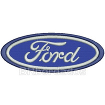Car077 Ford 15x5,8 Cm Rally 4x4 Off Road Tag Patch Bordado