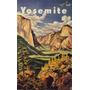 Yosemite Parque Nacional Montanhas Arvores Flor Poster Repro
