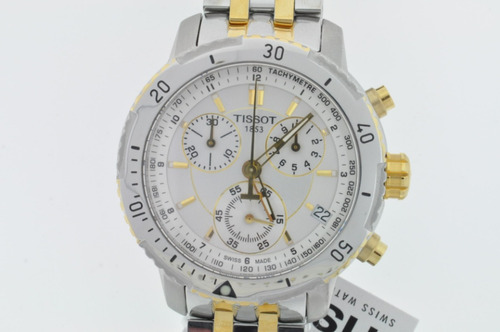 0385b6ddc6f Relógio Tissot Prs200 - Prs 200 Fundo Preto   Branco   Azul. Preço  R  1360  Veja MercadoLibre