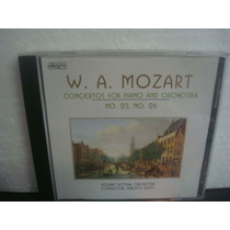 W.a. Mozart - Concertos For Piano And Or... - Cd Importado