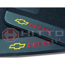Tapete Chevrolet Celta Personalizado Carpete Bordado