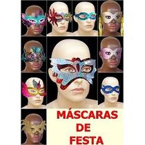 Kit 100 Mascaras Para Festas: Casamentos, Formaturas, Etc