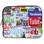 Bolsa Protetora Para Transporte De Laptop/netbook 10