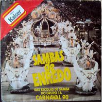 Lp Vinil - Sambas De Enredo Das Escolas De Samba Do Grupo 1a