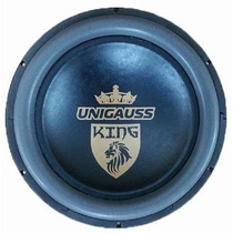 Subwoofer Unigauss 12 Polegadas 650w Rms Alto Falante Nb 12