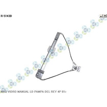 Maquina De Vidro Manual Del Rey Pampa 4p 81/...