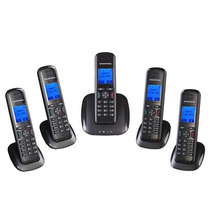 Kit Telefone Sem Fio Voip Grandstream - 1x Dp715 + 4x Dp710