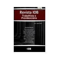 Livro Revista Iob - Trabalhista E Previdencia Lt