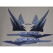Kit Adesivos Honda Cb500 2001 Preta - Decalx