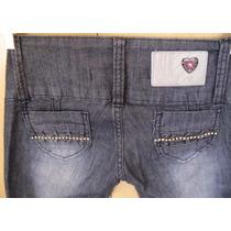 Promoção Lindaaa Calça Jeans Da Tramit Com Strass Perfeita