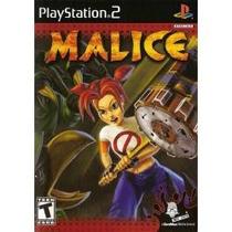 Jogo Para Playstation 2 Ps2 Malice Lacrado Raro