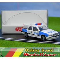 Lindo Volvo 850 Policia Sueca Ho 1:87 Wiking