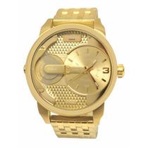 Relógio Diesel Dz7306 Little Daddy Aço Original Frete Gratis