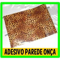 Adesivo Papel De Parede Decorativo Onça / Zebra - 5 Mt