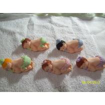 Lembrancinha De Maternidade Em Biscuit Bebê De Bruço