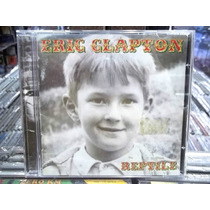 Eric Clapton Reptile Cd Original Estado Impecável