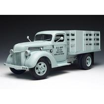Caminhão Ford Stake Truck 1940 Marinha Eua 1:16 Highway 61