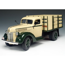 Mini Caminhão Ford Stake Truck 1940 1:16 Highway 61