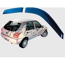 Ford Escort Zetec - Jogo Calha Chuva Defletor Tg Poli 21004