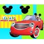 Kit A Casa Do Mickey Mouse + Desenha Convites + Ref 002