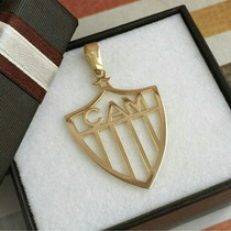 Pingente Clube Atlético Mineiro Galo Ouro 18k 750