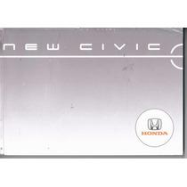 Manual Proprietário Honda New Civic 2006 C/suplementos E Bol