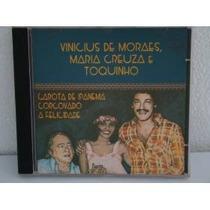 Cd Vinicius De Moraes, Maria Creuza E Toquinho Frete Gratis